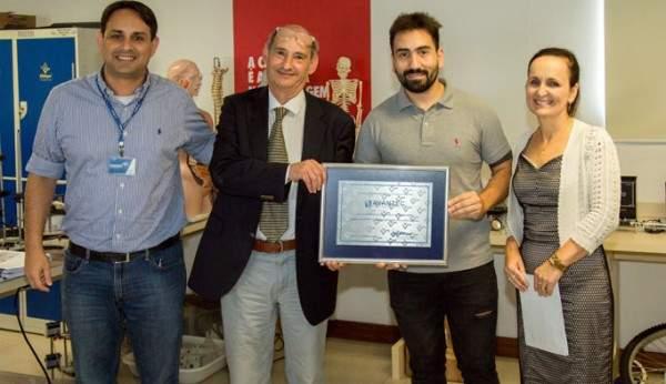 Daniel Marzullo - Trader Cidepe, Jorge Fernandez e Diego Alcaino da AVANTEC e Eunice Valmorbida - diretora Cidepe